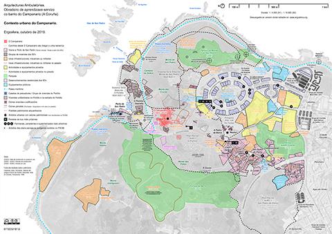 Contexto urbano do Campanario - Ergosfera (2019) - Blog